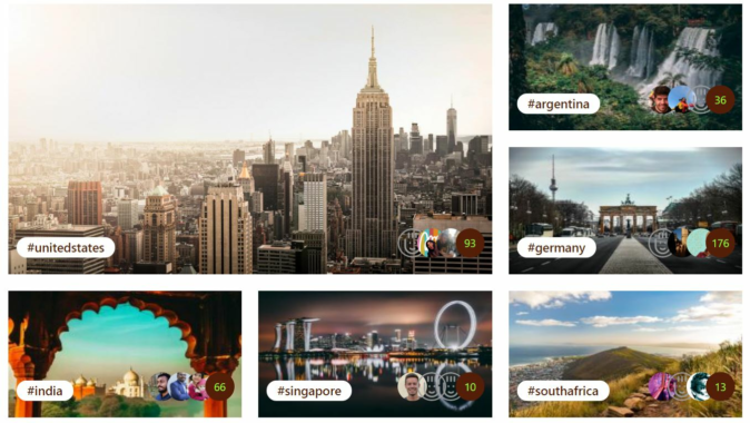 "Impressive international start of pleyces (""the Instagram for travellers and tourists"")"