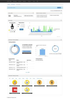 Lucy Security präsentiert neue Version der Cybersecurity Awareness Plattform