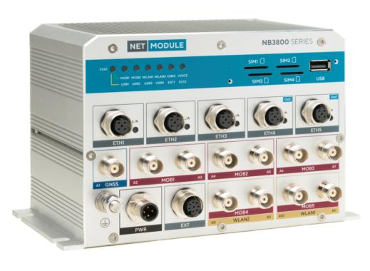 ITxPT-konforme Bahnrouter NB3800