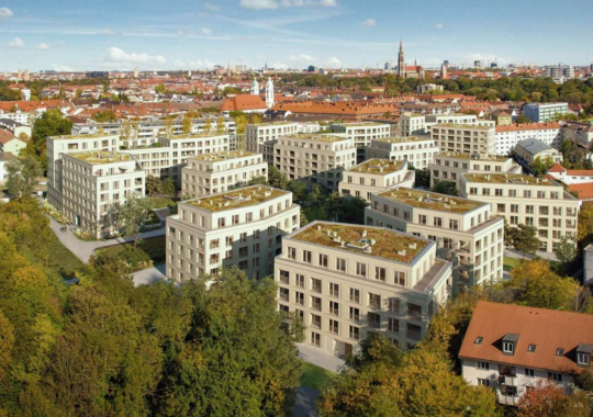 Richtfest für LIVING ISAR in München