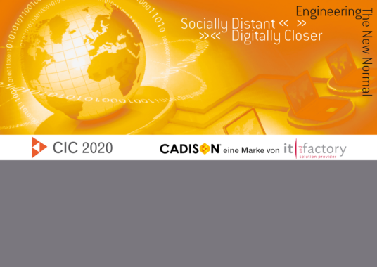 CADISON International Conference – Engineering the New Normal