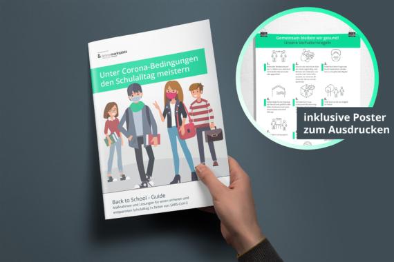 Gesunde Luft im Klassenzimmer: AiroDoctor kooperiert mit online Plattform lehrermarktplatz.de und stellt kostenlosen Ebook-Ratgeber zur Verfügung