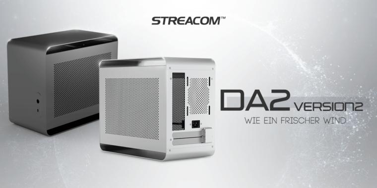 Neu bei Caseking: Streacom DA2 V2 SFF-Gehäuse!