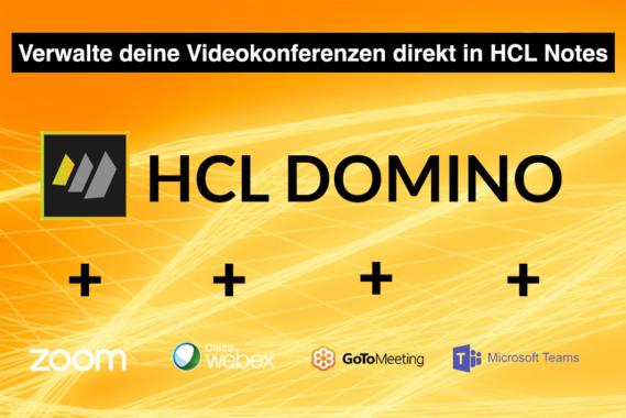 Einfache Videokonferenzen mit HCL Notes