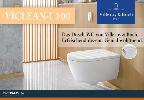 ViClean-I 100 – das Dusch-WC zum Wohlfühlen