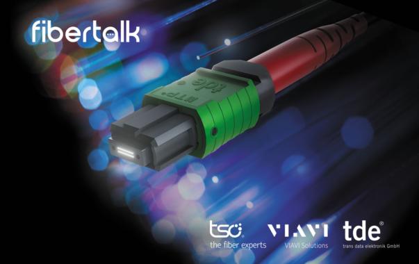 """Innovativ, interaktiv, informativ: tde, tso und VIAVI starten virtuelles Branchenformat """"Fiber Talk"""""""