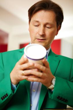 Der Ernährungsexperte PhDr. Sven-David Müller bei WISO Sondersendung