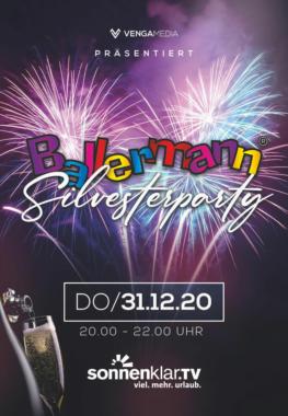 Eine BALLERMANN SILVESTERPARTY erstmals im Deutschen Fernsehen