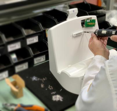 Limtronik fertigt für Medizintechnik-Unternehmen Beatmungsgeräte zur schnellen Bedarfsdeckung