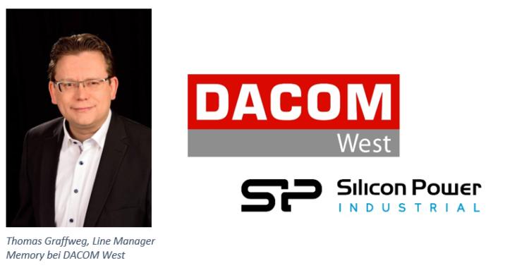 DACOM West vertreibt langlebige Speicherlösungen von Silicon Power