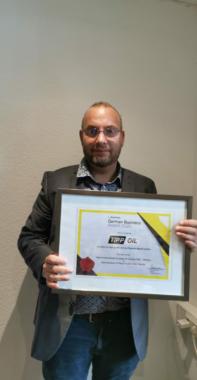 TIPP OIL  erhält Auszeichnung 2020 für Deutschland