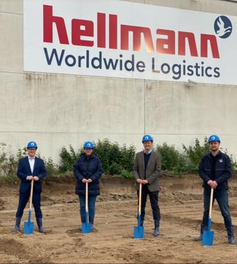 Hellmann erweitert Road-Standort in Polch