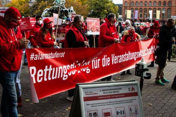#AlarmstufeRot – die zweite Großdemonstration in Berlin