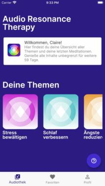 Musik entspannt und baut Stress ab – Filmkomponist entwickelt mit Medizinerin Gesundheits- und Meditations-App