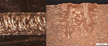 Poren- und spritzerfreies Kupferschweißen durch LaVa-Technologie