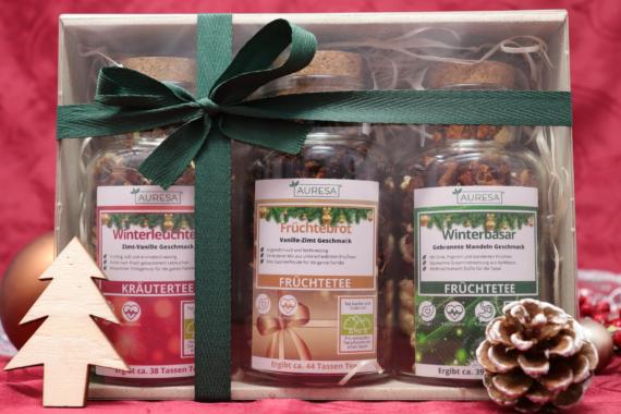 Limitierte Tee Geschenkboxen im Onlineshop von AURESA