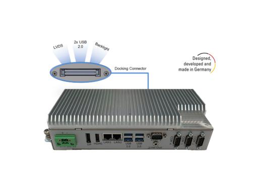 BoxPC Pro 7300 von Distec für anspruchsvollen Industrie-Einsatz