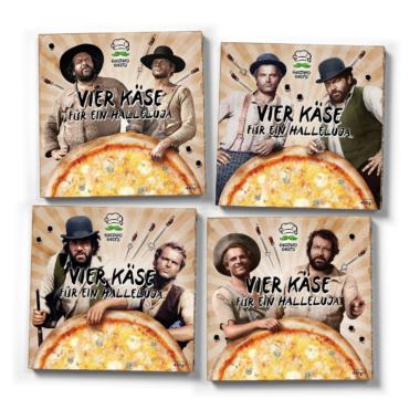 Gustavo Gusto-Tiefkühlpizza: Vier Käse für ein Halleluja