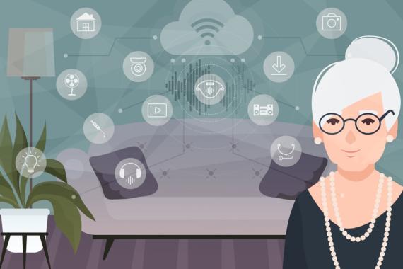 Fraunhofer IGD – IoT-basierte Assistenzsysteme unterstützen ältere Menschen