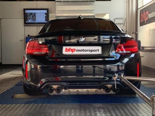 BMW Chiptuning auf dem Leistungsprüfstand