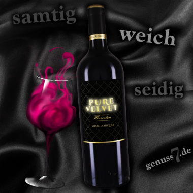 Erstklassiger französischer Rotwein wie aus Samt & Seide