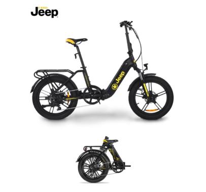 Neues Jeep Folding E-Bike mit komfortablem Tiefeinstieg