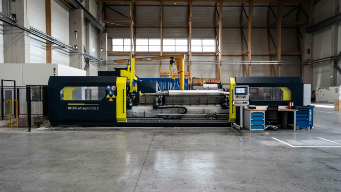 New machine concept combines optimum surface quality with minimum assembly time