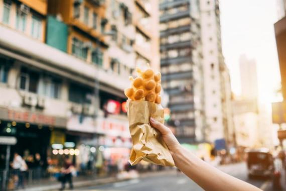 Streetfood-Kultur in Hongkong