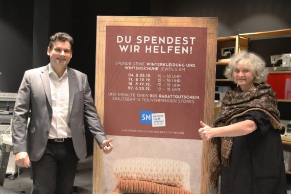 Das ALEXA unterstützt die Berliner Stadtmission