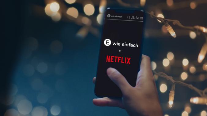 Das klingt nach Weihnachten: E WIE EINFACH schenkt NETFLIX zum Fest