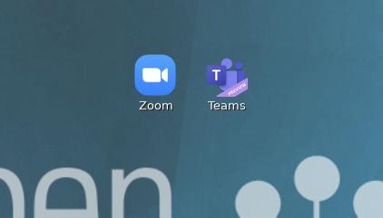 Teams und Zoom als native Anwendungen