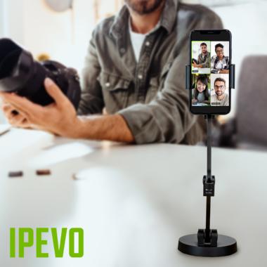 Ein gesteigertes Erlebnis mit dem IPEVO Uplift – Mehrgelenkiger Arm für Smartphones