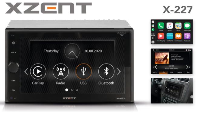 Top-Entertainer fürs Auto: XZENTs Multimediasystem X-227