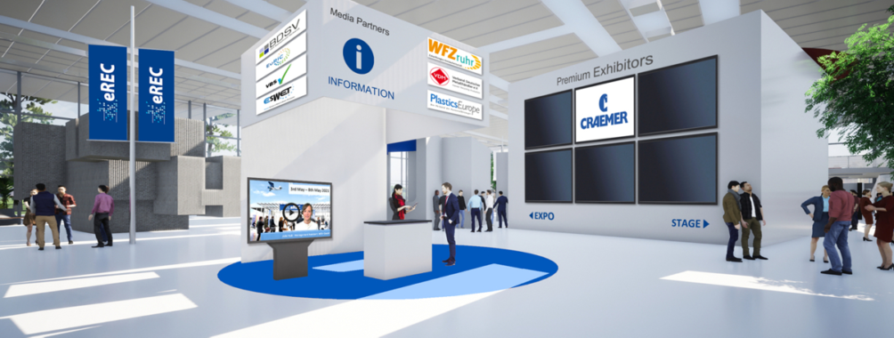 eREC 2021: Das virtuelle Messeerlebnis für die Recyclingbranche geht in die nächste Runde!