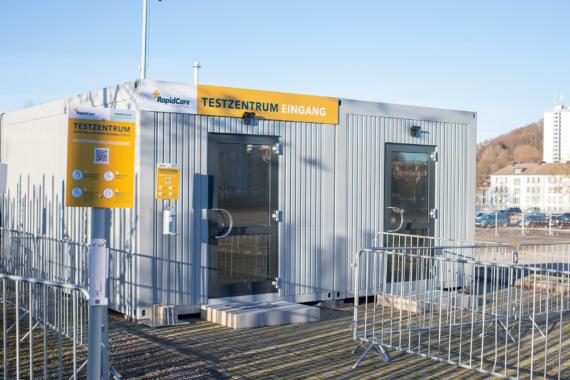 Aachener Unternehmen RapidCare: Schnelltests am Bendplatz