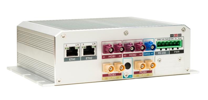 Teleoperation von autonomen Fahrzeugen mit NetModule Routern