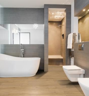 Welche Bodenbeläge sind für Renovierung im Bad geeignet ?