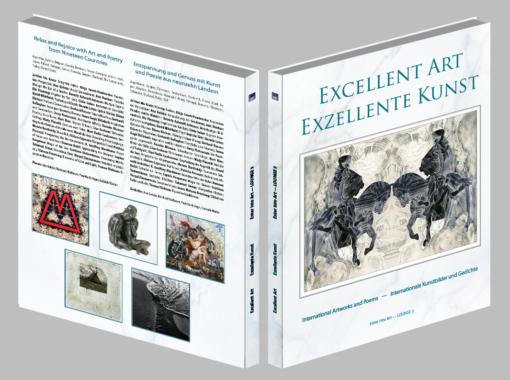 "Internationales Kunstbuch ""Excellent Art – Exzellente Kunst"""