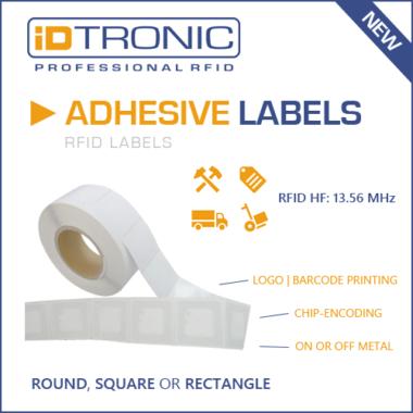 All-in-One RFID Label mit vielen Personalisierungs-Optionen