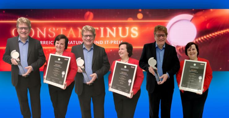 """databee – Mit KI in die Cloud"" gewinnt Constantinus Award ""Internationale Projekte"""