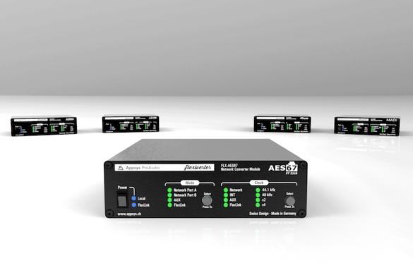 Appsys Flexiverter bietet flexible Digitalformatwandlung in kompaktem Gehäuse