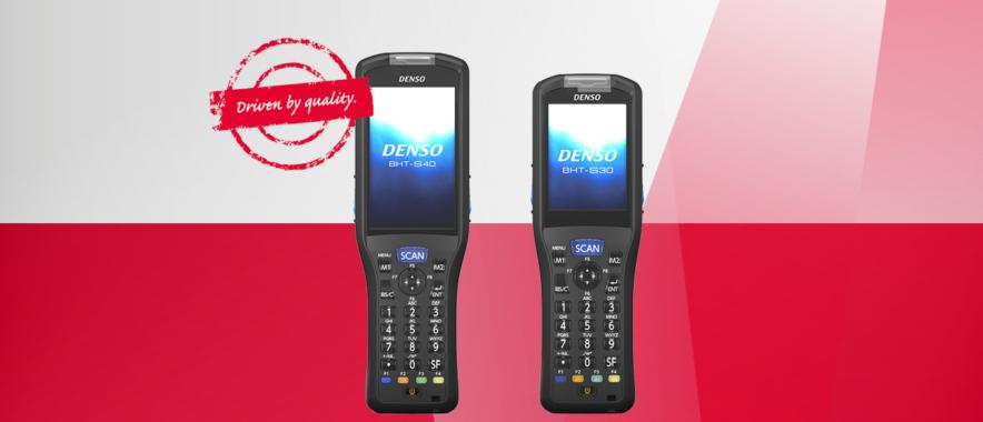 Neuerscheinung: DENSO launcht BHT-S30 und BHT-S40 Handhelds
