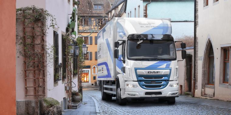 DAF Trucks präsentiert den LF Electric