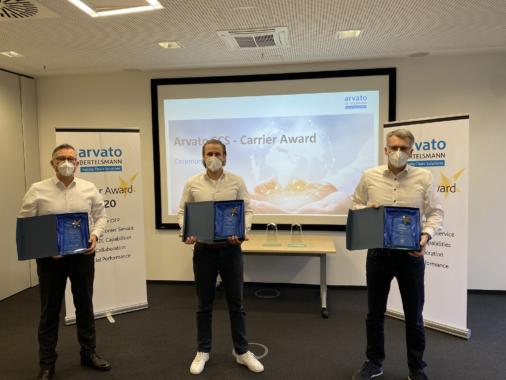 Arvato Supply Chain Solutions vergibt erstmals Carrier Award