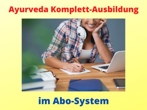 Ayurveda-Ausbildung im Abo Online lernen