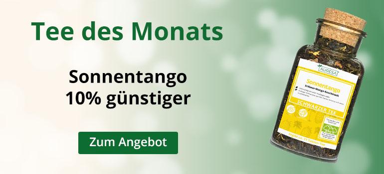 Mango und Erdbeere tanzen in der Tasse Tango – Monatstee im Februar
