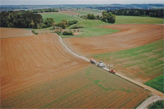 Straßensanierung: ökologisch und nachhaltig mit dem Panmax-Verfahren