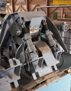 Innovatives Verfahren zur Trocknung von Holz-Hackschnitzel