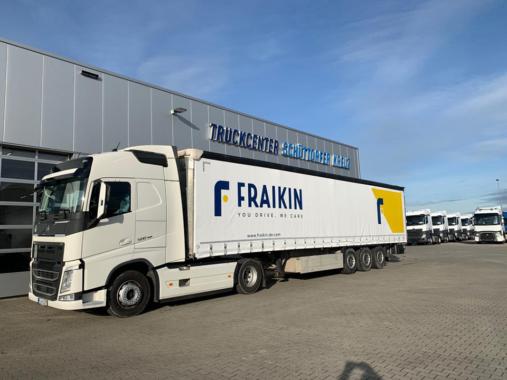 Werkstattservice: Truckcenter Schüttorf setzt auf modernen Fraikin-Sattelzug