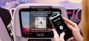 Qatar Airways bietet berührungsfreie Zero-Touch-Technologie für ihr Bordunterhaltungssystem